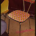 Quand une chaise en formica se transforme en chaise smarties...