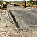 National Road No3: maintenance works to curb security