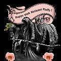 Happy pink birthday fluffy !