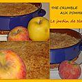 The crumble aux pommes