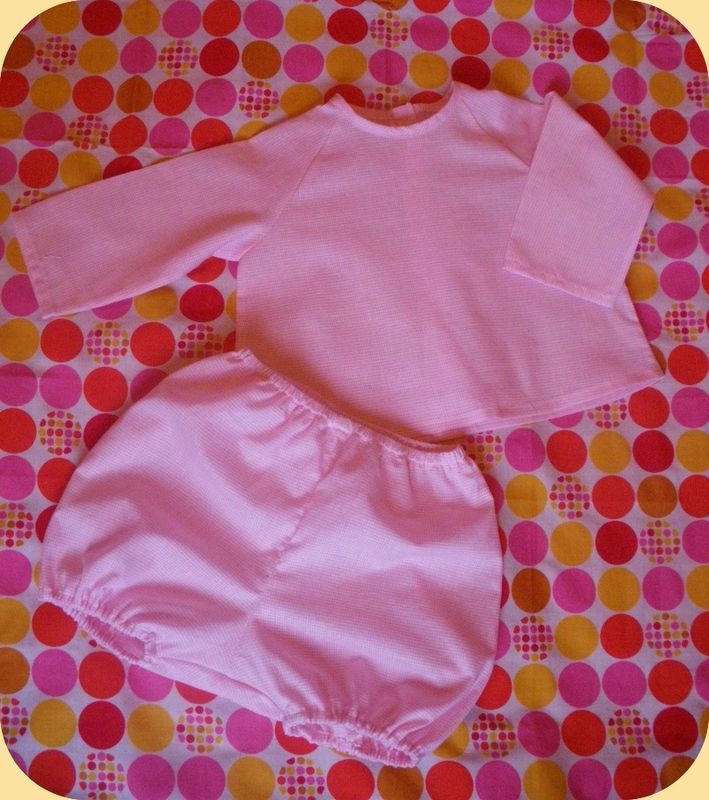 coton blanc rayé rose