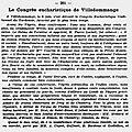 1937 06 juin : congrès eucharistique