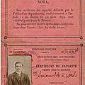 Le journal de guerre de Victor Moïse Louis Calon, mort au combat le 23 octobre 1914 à <b>Vienne</b>-le-<b>Château</b>