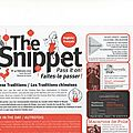 The Snippet de février est sorti !
