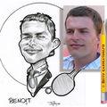 Caricature pongiste