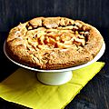 Tarte pommes-poires et sa pâte croustifondante à la noisette