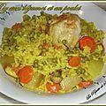 Rix aux légumes et au poulet