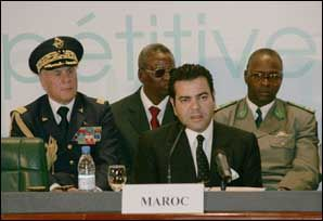 """Prince Moulay Rachid addressed participants of the international forum on agriculture """"Agricultural Davos"""" DAKAR, Feb. 04 2005"""
