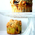 Streusel muffin aux fruits rouges