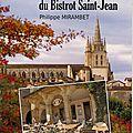 Sous les arcades du bistrot saint jean de philippe mirambet