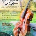 Concert Classique à <b>Pressac</b> ( 86-Vienne)