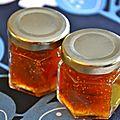 Confiture de figues, vanille et cannelle