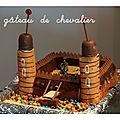 Un gâteau de chevalier!
