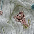 Cat and Flowers Blanket 3