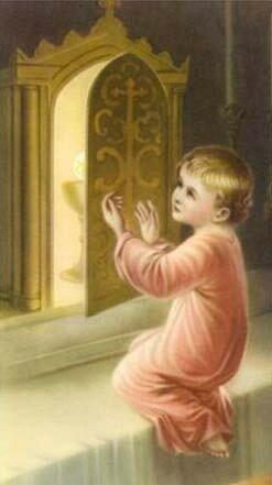 Enfant au Tabernacle