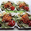 Salade composée individuelle
