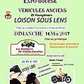 Agenda segmg: dimanche 14 mai / expo à la fête du printemps à loison-sous-lens(62)