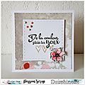 Dt passion scrap-une carte