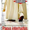 Départ du pape dans la presse
