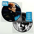 "David Bowie 7"" Picture Disc Vinyl - Sound and Vision - 40th Anniversary - <b>Collector</b> Record"