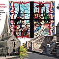 Les vitraux vendéens de Saint-Hilaire de Mortagne