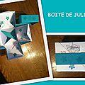 Boîte de julia