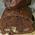 Cake choco-poire