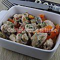 Mijoté de porc aux champignons et carottes
