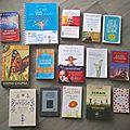 Tous ces livres dont je ne parlerai pas ici...