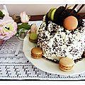 Charlotte au chocolat et agrumes......une tuerie!!!