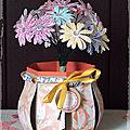 Bouquet de Marguerite et son vase
