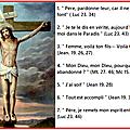 Les sept dernières paroles de <b>Jésus</b> sur la croix. The Last Seven Words of Christ.