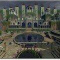 حدائق بابل المعلقة كما تصوروها