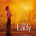 Aujourd'hui, j'ai regardé.. The Lady