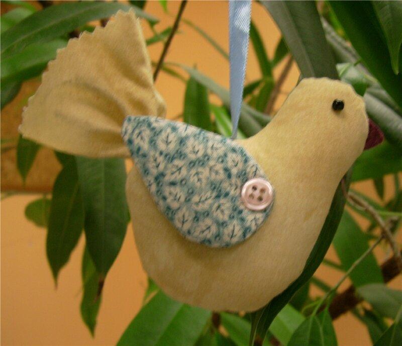 oiseau tissu 2
