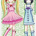 les manga vocaloid k-on et autre ...