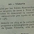 Domaines sucriers_Victoria_Frères Montocchio_1835