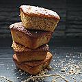 Gateaux noisette noix de macadamia