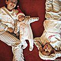 Trouver 4 pyjamas de noël, du bébé au 14/16 ans, mission impossible ?