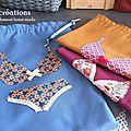 Pochette lingerie : nouvelle version