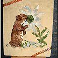 2 Marmotte(Animaux Montagne)