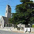 Vu de la place de l'église