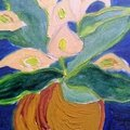 WATERCOLOURS & <b>OIL</b> <b>PAINTINGS</b> OF FLOWERS