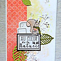 Scrap & co - défi lift carte octobre 2017