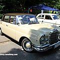 Mercedes 220 se de 1962 (37ème internationales oldtimer meeting de baden-baden)