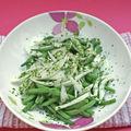 Salade d'haricots vert
