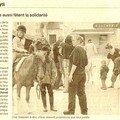 Bigoud'ânes à plozévet, des ânes solidaires !!