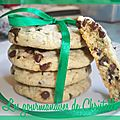 Cookies menthe-chocolat ou cookies after eight de lunedargent
