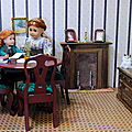 Jane la coquine, et la nouvelle <b>cheminée</b> du salon de Rose