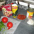 INGREDIENTS POUR PIZZA